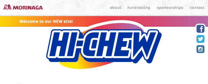 Welcome to Hi-Chew's new site!
